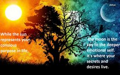sun and moon quote; loving this quote <3