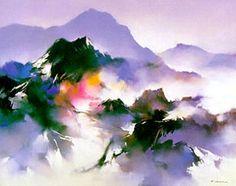 Mountain Dream by Hong Leung