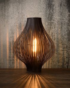 Lucide Poli Table Lamp - Black from Lighting Direct. Diy Interior, Interior Design Living Room, Rattan Lamp, Bamboo Light, Black Table Lamps, Direct Lighting, Bedroom Lamps, Bedside Lamp, Easy Home Decor