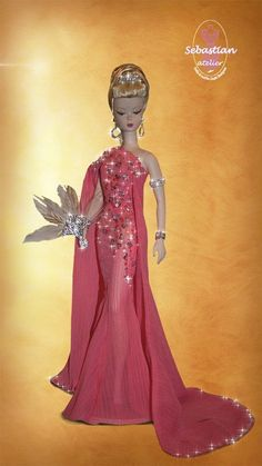 CHARITY AUCTION - BARBIE OOAK DULCIS ROMANA by Sebastian Atelier for RFDC 2015