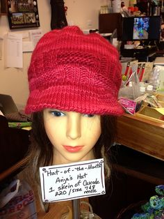 Ravelry: MollyMatters February Hat of the Month
