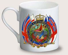 """Prince George Alexander Louis of Cambridge - Another Royal Mouth To Feed.""  UnRoyalChristeningMug"