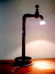 Luminária torneira...