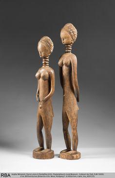 Skulptur Minsereh  Sierra Leone & Westafrika  1801/1900  StatuetteSkulptur  Höhe: 93,5 cm  Köln, Rautenstrauch-Joest-Museum rba_d005233.jpg (778×1200)