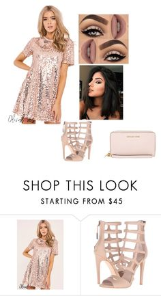 """""""Lounge Night"""" by paulinha10miranda on Polyvore featuring L.A.M.B., Lime Crime and MICHAEL Michael Kors"""