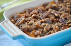 Sweet Potato Casserole with Praline Topping from Holly Clegg