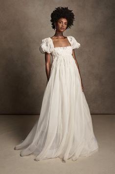 Bridal Gowns, Wedding Gowns, Boho Wedding, Bohemian Style Wedding Dresses, Satin Gown, Silk Organza, Traditional Wedding Dresses, Nontraditional Wedding, Bridal Fashion Week