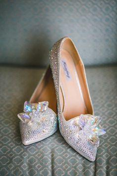 4cc35d4c783a79 A Dreamy Fairytale Inspired Real Wedding. Glass SlipperRomantic WeddingsReal  WeddingsWedding ShoesWedding ...