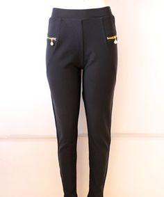 #legging #negro y #cierre con #perla un color muy #combinable