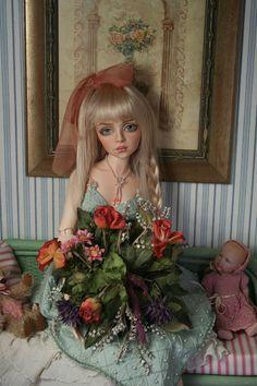 BJD doll - tessa - soft sea, BJD doll