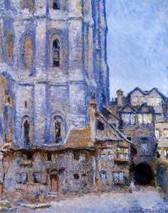 Claude Monet - The Cour d'Albane (1892)