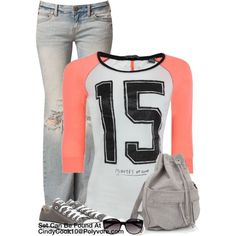 Sporty Top, created by cindycook10 on Polyvore