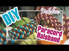 DIY PARACORD HALSBAND | Trilobite Knoten | Step by Step Tutorial - YouTube