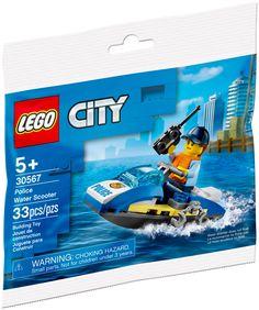 Lego City Sets, Lego Sets, Jet Ski, Police, Talkie Walkie, Building Toys, Construction, Sea, Explore