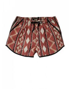 If I wore shorts...   Cute retro inspired ikat shorts - Scotch & Soda