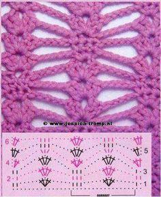 Crochet pattern / diagram      ♪ ♪ ... #inspiration_crochet #diy GB