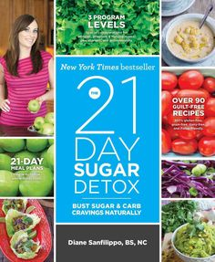 The 21-Day Sugar Detox is a clear-cut, effective, whole-foods-based nutrition action plan that will reset your body and your habits! Tens of thousands of people have already used this groundbreaking g