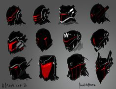 Masks 2 by benedickbana on @DeviantArt