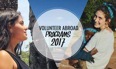 Volunteer Abroad Programs 2017