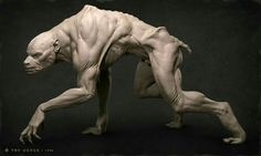 My name is Adam Skutt, I'm the character lead over at Ready at Dawn. A bunch of us wanted to share some of our artwork with the Zbrush community. Creature 3d, Creature Concept Art, Creature Design, Zbrush, Fantasy Monster, Monster Art, Alien Creatures, Mythical Creatures, Werewolf Art