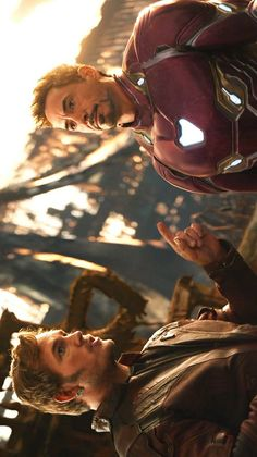 Star-Lord & Iron Man