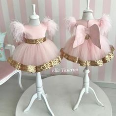No photo description available. Baby Girl Birthday Dress, Baby Girl Party Dresses, Birthday Dresses, Little Girl Dresses, Girls Dresses, Flower Girl Dresses, Baby Girl Frocks, Kids Frocks, Frocks For Girls