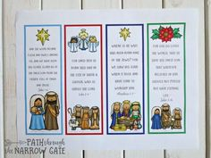 Sauls conversion free printable comic strip style story do you need an easy prep quick and fun christmas craft try these printable christmas bookmarks with bible verses perfect for home or classroom use fandeluxe Gallery