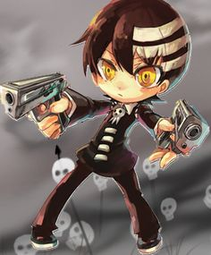 Chibi Death the Kid from Soul Eater