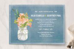 Las 30 invitaciones de boda con estilo vintage más lindas: Aliadas perfectos para incorporar estilo y elegancia Image: 20