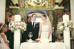 Church ceremony in Greece. Image: Anna Roussos