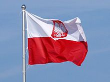 Flaga Polski – Wikipedia, wolna encyklopedia