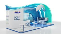 Stand 9m x 6m by Diogo Ludviger Raucci, via Behance