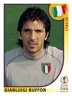 459 Gianluigi Buffon - Italia - FIFA World Cup Korea/Japan 2002