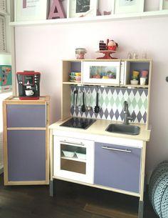 IKEA Kinderzimmer mit DUKTIG RAUTIG