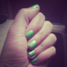 """China Glaze """"I'm With The Lifeguard"""" part of their summer neons collection."""