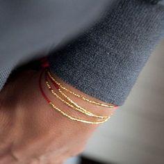 Delicate Silk Bracelet, minimalistic bracelet, wish bracelet, friendship bracelet. Wish Bracelets, Diamond Bracelets, Gemstone Bracelets, Jewelry Bracelets, Bangle Bracelet, Stacking Bracelets, Leather Bracelets, Pandora Bracelets, Stacking Rings