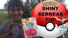 #VIDEO: #Pokemon Shiny Xerneas EX Kalos Tin! Pokemon Cards - Jenna Em Channel WATCH: https://youtu.be/SUNmPdKDw0o #Pokemon20