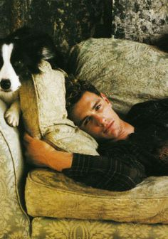 James Franco AND a border collie. Win.