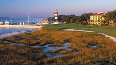 Hilton Head Island, SC Whether you're looking to enjoy a few rounds of golf at one of the island's 30 golf courses or to relax on the 12-mile stretch of white-sand beach, Hilton Head Island in South Carolina has it all. One of the largest islands on the East Coast, Hilton Head is a popular, family-friendly resort area with an abundance of activities to choose from, including water sports, outdoor adventures and museums.