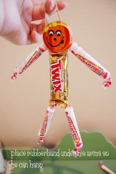 Make halloween candy men...