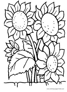 flower page printable coloring sheets page flowers coloring pages color plate coloring - Coloring Sheet Printables