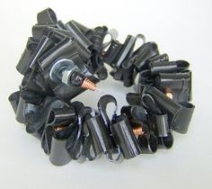 Recycled Jewellery  you could do this with 35mm film