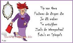 Afvallen, met humor!!!