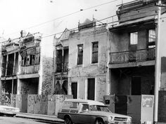 March 1983: Terrace houses in Gertrude St, Fitzroy.