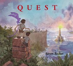 QUEST by Aaron Becker. The sequel to JOURNEY is even more magical and transporting. Now with a friend, the heroine from JOURNEY has a new puzzle to solve and more places to travel to.