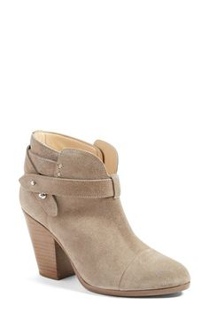 Free shipping and returns on rag & bone 'Harrow' Leather Boot at Nordstrom.com. Pushpin hardware modernizes a svelte cap-toe bootie girded with wraparound straps and set on a sculptural block heel.
