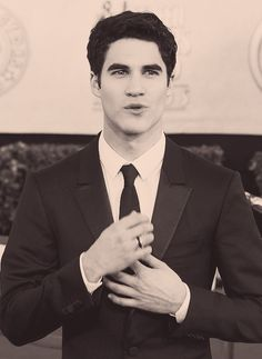 Darren Criss... my body is ready                              …