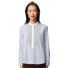 WOMEN Supima Cotton Stretch Long Sleeve Shirt
