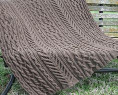 Ravelry: John's Lap Robe pattern by Ann V. Gallentine