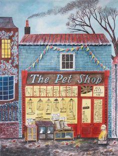 The Pet Shop | Illustration by Emily Sutton